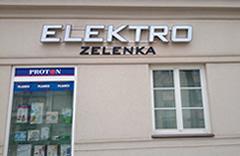 prodejna Elektro-Zelenka